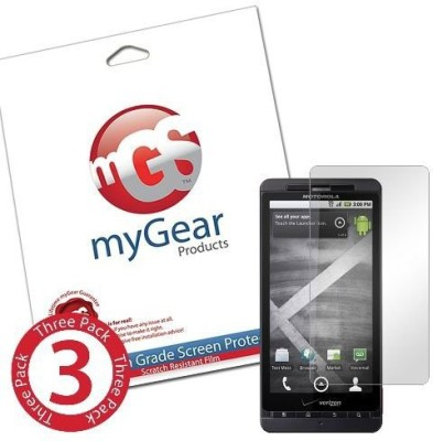 myGear Products mGS00205 Screen Guard for Motorola Droid X