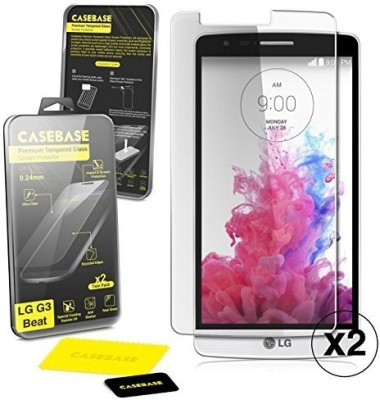 Casebase Crystal SCRGLBCTWINLGG3MINI Screen Guard for LG g3 s