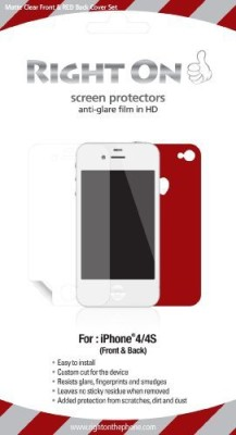 Bricson Colorshield ROP-IPS-200H Screen Guard for iPhone 4