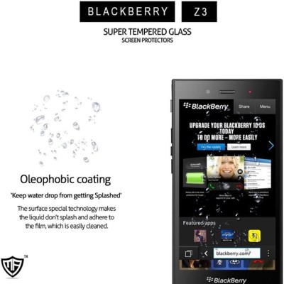 MoArmouz Cutting Edge Protection For Your Phone – Invest in A Mobile Accessory That Is Worth It, Even Keys Can't Scratch It! Screen Guard for BlackBerry Z3