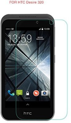 Totelec TG-17 Premium Shatterproof Tempered Glass Screen Guard for HTC Desire 320