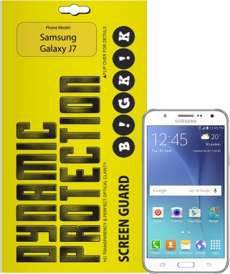 Bigkik Screen Guard for Samsung Galaxy J7