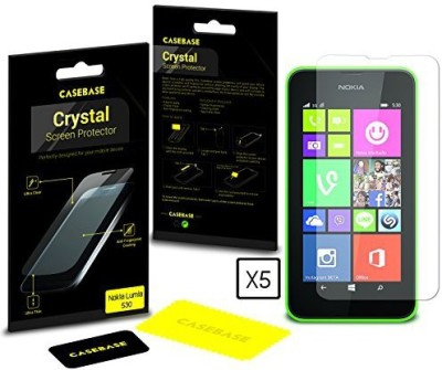 Casebase Crystal SCRCB5IN1LUMIA530 Screen Guard for Nokia lumia 530