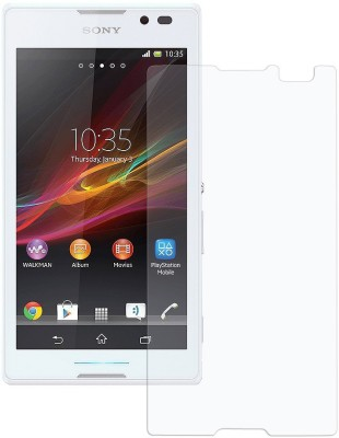 Zsm Retails XP C Tempered Glass for Sony Xperia C