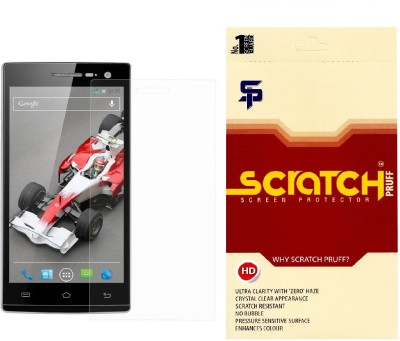 Scratch Pruff SSP001w12277 Screen Guard for Xolo Opus Hd