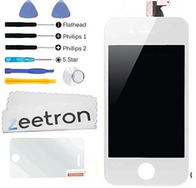 Zeetron ZT803+ZT210+ZT918+CLOTH-MF Screen Guard for iPhone 4
