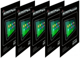 VEEGEE Clear Pack of 5 Full Screen -2051112-494 Screen Guard for Microsoft Surface Pro 2