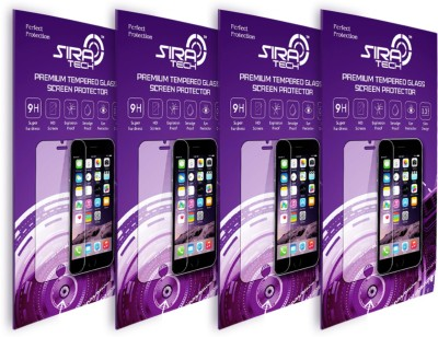Siratech (T-235) (SET OF 4) 2.5D CURVED Tempered Glass. Screen Guard for Xiaomi Mi4i