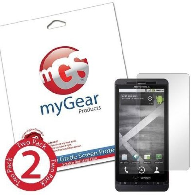 myGear Products mGS00214 Screen Guard for Motorola Droid X