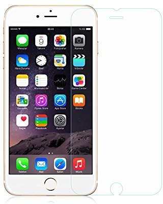 Amorus 3349911 Screen Guard for IPhone 6 s