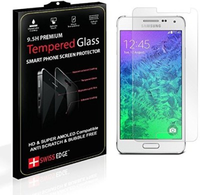 SWISS EDGE Screen Guard for Samsung Galaxy alpha