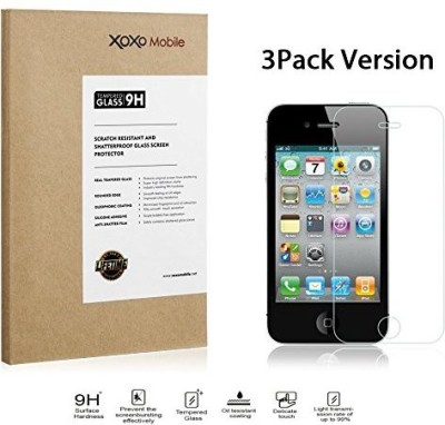 XOXO Mobile 3x-XM-SP-iPhone-4S-Glass-0.3mm Screen Guard for Phone 4s