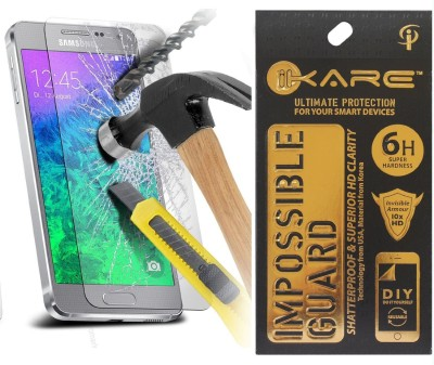 Ikare Tempered Glass Guard for Screen Protector Samsung A5 A500