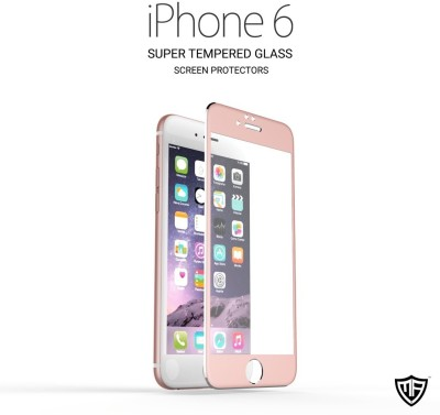 MoArmouz Titanium 3D Alloy Best Recommended 3D Arc Edge Full Cover with Easy Applicator Screen Guard for iPhone 6S/6