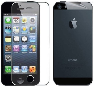 PraIQ MK63 Front Tempered & Back Screen Guard for Apple iPhone 4/4s
