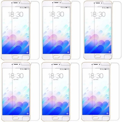 Accezory MZM3NOTETGP6 Tempered Glass for Meizu m3 note