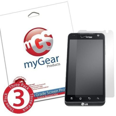 myGear Products mGS00092 Screen Guard for LG Revolution