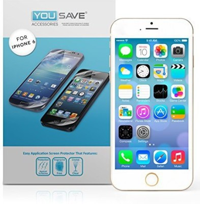 Yousave Accessories Screen Guard for IPhone 6s