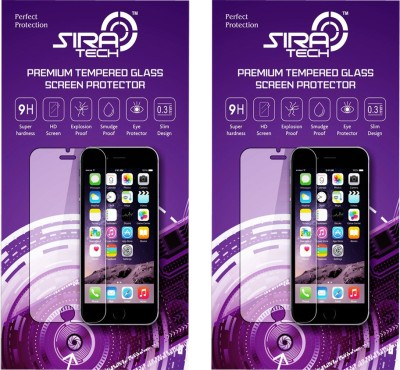 Siratech (T-630) (SET OF 2) 2.5D CURVED Tempered Glass. Screen Guard for Micromax A093 Canvas Fire
