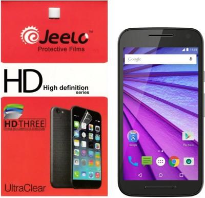 Jeelo mg3 HD Clear (Pack of 2) Screen Guard for Motorola Moto G3
