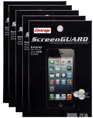 Coverage Pack of 5 Screen Guards for MICROMAX CANVAS SPARK Q380 Screen Guard for MICROMAX CANVAS SPARK Q380