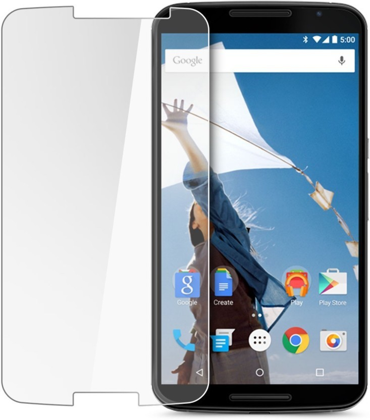 Unix Tempered Glass Guard for Motorola Google Nexus 6