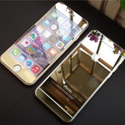 FireForces FF-3106 Front And Back Gold Tempered Glass for iPhone 6/6S