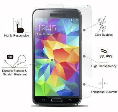 KoldFire TG155 Tempered Glass for Micromax A102