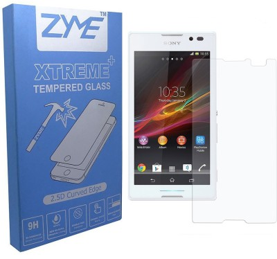 ZYME Xtreme Plus Z-13 2.5D Curved Tempered Glass for Sony Xperia C