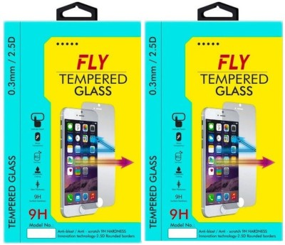 Fly ZE551ML Premium HD Pack of 2 Tempered Glass for Asus Zenfone 2 Deluxe (ZE551ML) 5.5