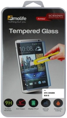 Molife Tempered Glass Guard for HTC DESIRE816G