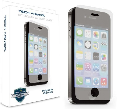 Tech Armor SP-BG-APL-I4S Tempered Glass for Apple iPhone 4, 4S