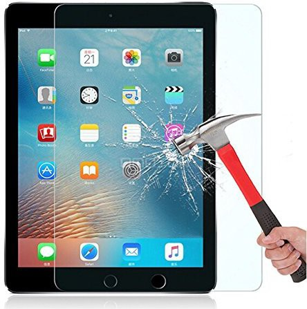 Netboon Tempered Glass Guard for Apple iPad Pro 9.7/Apple iPad Air/Apple iPad Air 2 Image