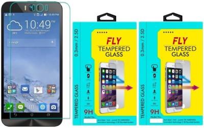 Fly ZD551KL 9H Pro 0.33MM Pack of 2 Tempered Glass for Asus Zenfone Selfie (ZD551KL) 5.5