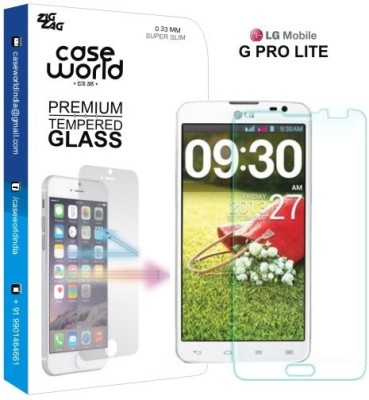 Case World Tempered Glass Guard for LG Pro Lite