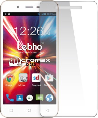 Novo Style Tempered Glass Guard for MicromaxCanvas SparkQ380