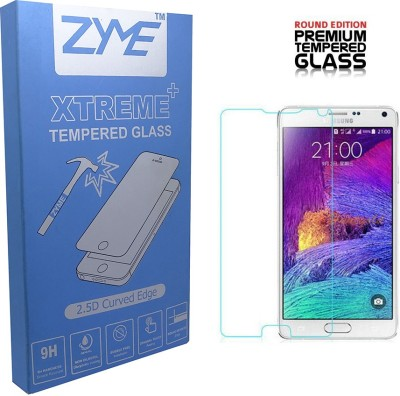 ZYME Xtreme plus ze-101 2.5D Curved Tempered Glass for Samsung Galaxy Note 4