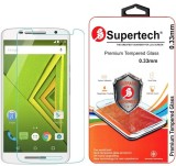 Supertech Tempered Glass Guard for Motor...