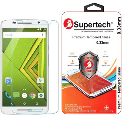 Supertech XT1562 Premium 0.33mm HD Clear Screen Protector Tempered Glass for Motorola Moto X Play