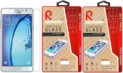 Raydenhy RAY Pack of 2-SM-G600F Tempered Glass for Samsung Galaxy On7