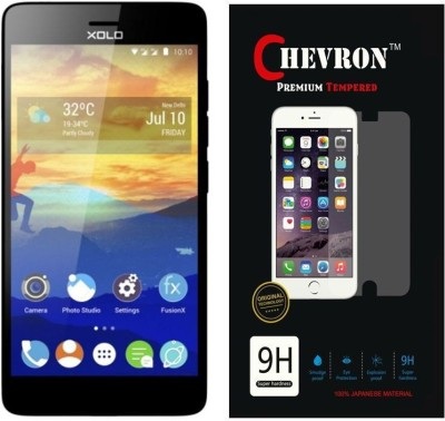 Chevron D275 Two Shock Absorbing Tempered Glass for XOLO Black