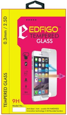 Edfigo Q372 Round Edges Tempered Glass for Micromax Q372 Unite 3