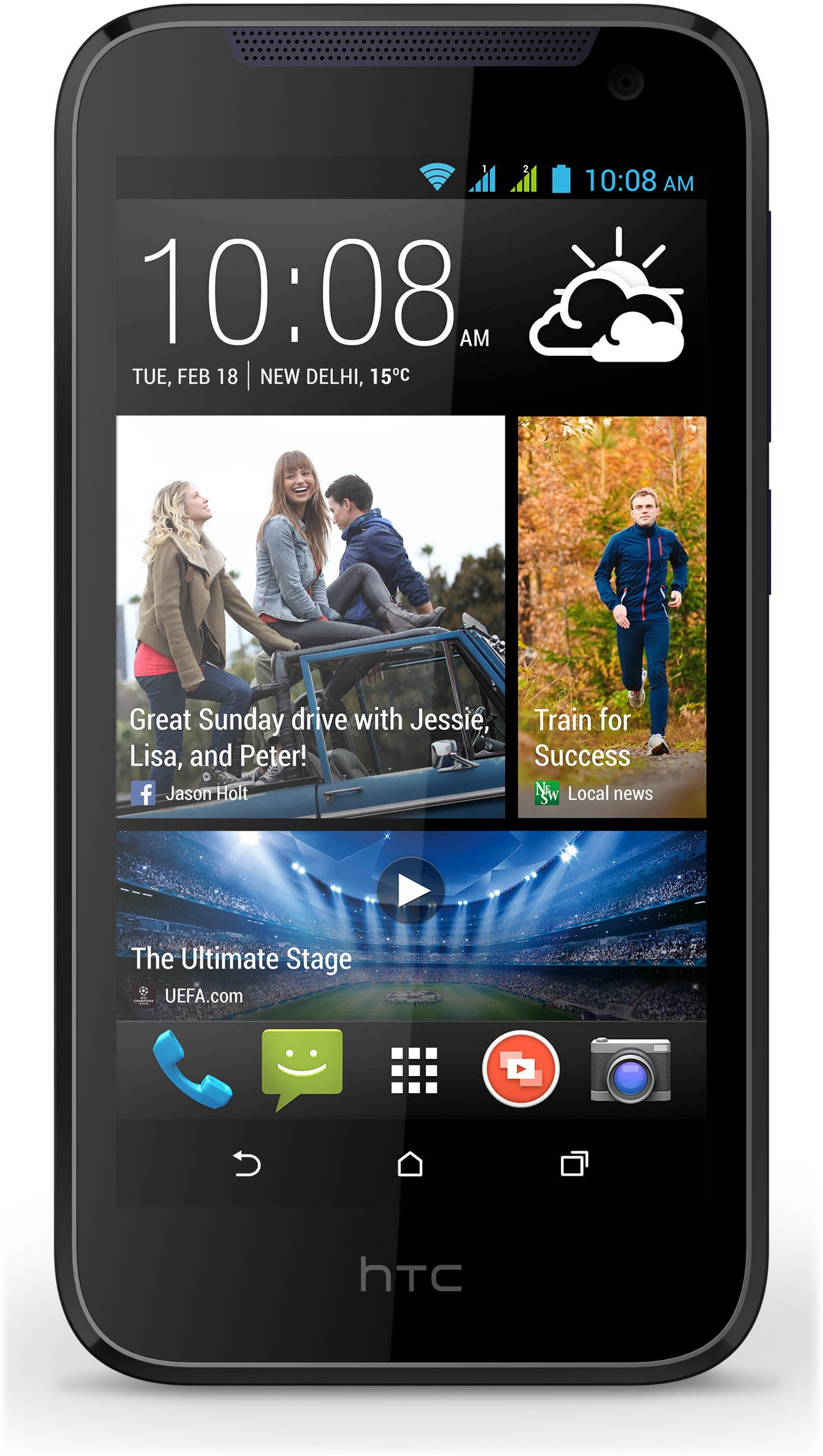 Emroasia Tempered Glass Guard for HTC�Desire310