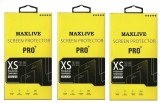 MAXLIVE (Pack of 3) MIRROR 5S Tempered G...