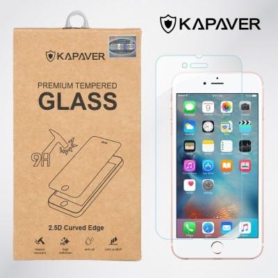 Kapaver Apple iPhone 6 Plus/6S Plus Tempered Glass for Apple iPhone 6 Plus/6S Plus (5.5