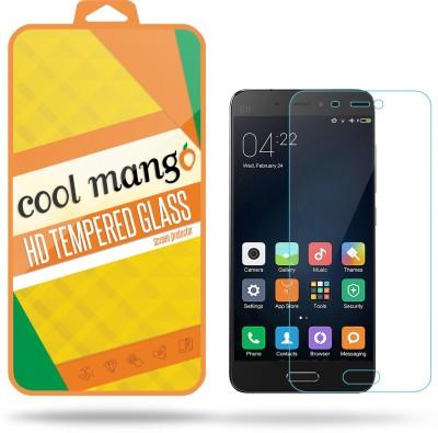 Cool Mango 2.5 D HD 0.3 MM HQ Tempered Glass for Xiaomi Mi 5