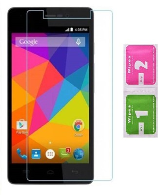 YuniKase Tempered Glass Guard for Micromax Q385