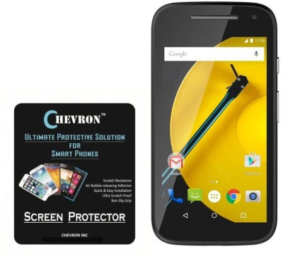 Chevron Tempered Glass Guard for Motorola Moto E (2nd Gen)