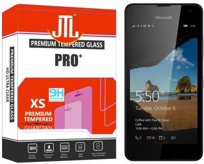 JTL 2.5D Curve Edge Kristal Clear PRO+ 58 Tempered Glass for Microsoft Lumia 550