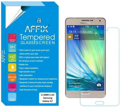 Affix PTG0095 Premium Tempered Glass for Samsung Galaxy A7 (5.5